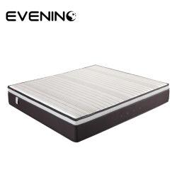 럭셔리 실크 직물 천연 라텍스 폼 레이어 포켓 코일 매트리스 가정용 가구용 침대