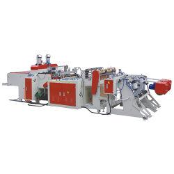 De Plastic Zak die van het Huisvuil van het Broodje van de Ritssluiting van Wenzhou tot Machine Duitsland maken het Winkelen Biologisch afbreekbare T-shirt Plastic Zak die de Prijs van de Machine maken