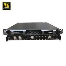 Da18k4 18000W 4 قنوات 1U الفئة D طاقة صوت ستريو مضخم الصوت