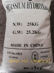 높은 순수성 수산화 칼륨 KOH 가성소다 90%