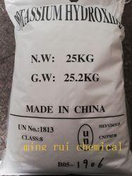 Hoher Reinheitsgrad-Kaliumhydroxid KOH Natriumhydroxid 90%