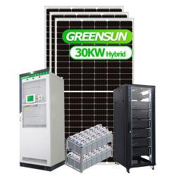 الشحن المجاني 15 كيلو واط 20 كيلو واط و 30 كيلو واط خارج نظام Grid Hybrid Solar سعر نظام الطاقة