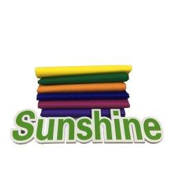 Colorida PP Spunbond Nonwoven Fabric de bonos de hilado de polipropileno tejido sin tejer Roll