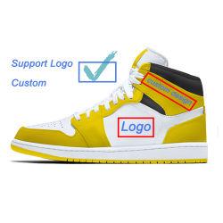 より高い安定性のカスタマイズされたロゴの男子バスケットボール靴