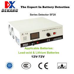 12V 24V 36V 48V 60V 72V Bateria de íon e bateria de chumbo-ácido Carga Universal de Teste do Ciclo Automático de descarga da ferramenta de diagnóstico