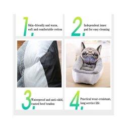 Mixto el lote de Otoño e Invierno Super espeso de terciopelo de cordero nido Pet Kennel criadero de gato de dibujos animados de Peluche Perro de perrera cama