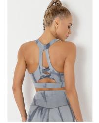 ワークアウトトップビューティフルバックタイダイヨガブラスポーツアンダーウェア 女性女性女性女性の女の子の適性の衣服