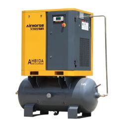 Продажи на заводе Mini 7Квт 10HP 8бар воздушные компрессоры насос с бака сжатого воздуха для Hotspray