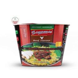 Hai Di Lao por grosso dos preços de fábrica HACCP sabor carne Taça instantâneas aletria