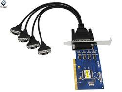 PCI 4 Hochgeschwindigkeitsseriendem adapter Ut-754 zur Kanal-RS-232