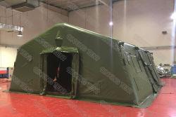 6X4m 실외 방수형 응급의료병원 팽창식 아미 에어 텐트