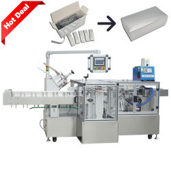 自動スキンケアの健康プロダクト穀物袋の cartoning 機械