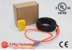 120V 230 В трубки подачи воды для защиты от замерзания в постоянной мощности системы отопления кабельные системы с термостатом Ce UL