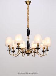 ランプのかさのホーム装飾の照明(KL3018/8)の現代新しいデザイン米国式の居間の優雅な黒