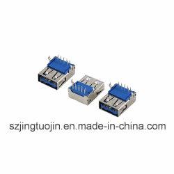 USB 3.0 A موصل أنثى من النوع A لمنتجات الكمبيوتر