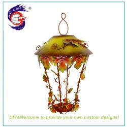 Cheap lanterne en fer forgé mur accroché au plafond de verre &Porte-bougie votive