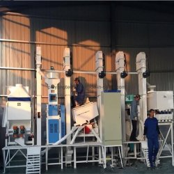 30tons de volledige Gemakkelijke Machines van de Rijst van de Rijstfabrikant van de Verrichting