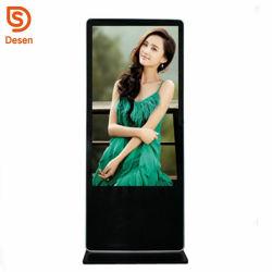 Intelligenter Fußboden-Standplatz HD 43 Zoll aufgeteilter Bildschirm LCDdigital Signage-Spieler, DigitalSignage Media Player bekanntmachend