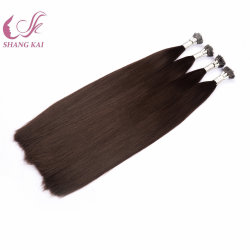 Nano Sugerencia Ponytail Hair Extension Cabello el Cabello Remy mongol ruso/