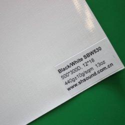 Banner de publicidad en blanco y negro materiales fabricados en China