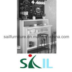 Mesa de Bar con puertas en Living y comedor