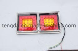 12V 36 LED 車用トラックリヤ・トレーラ・テール・インジケータ・ランプ・ライト