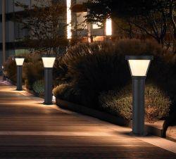 따뜻한 백색의 실외 정원 잔디 LED 태양빛 조명 장식 조명 폴