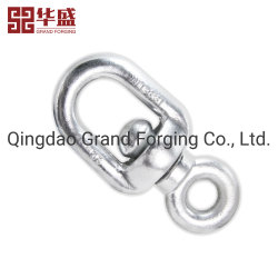 Hardware Rigging geschmiedeten Stahl Doppel-D-Schraube Drehringe