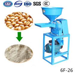 Mini Auto Trigo maíz maíz agrícola de harina de granos de café máquina de moler