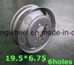 Haute qualité 19.5X6.75 Rim disque, Disque de roue, roue en acier du chariot