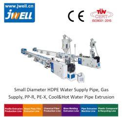 HDPE-Wasserversorgungsleitung mit kleinem Durchmesser, Gasversorgung, PP-R, PE-Rt, PE-X, Cool&Hot Water Pipe Extrusion Line