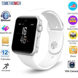 Timethinker Dm09 Reloj inteligente cámara HD Deportes Smartwatch llamada Relogios Bluetooth de la tarjeta SIM GSM Whatsapp Facebook Twitter relojes