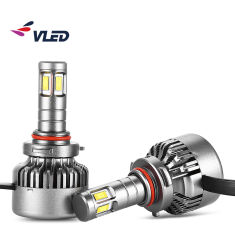 V10 Pièces de voiture Accessoires Projecteur LED H7 9-32V 40W 4000lm 6000K H7 Voyant phares H7 Lampe de projecteur à LED