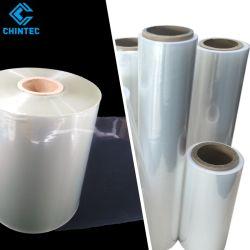 El material de embalaje plástico transparente de la bolsa de rollo etiqueta Shrinkable termal envoltura Manga Films de polietileno PE PETG POF Film Retráctil Poleolefina