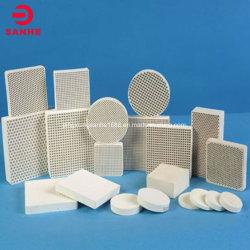 Filtro de placas de cerámica en forma de panal/Sector Metal de fusión