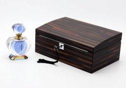 Le luxe élégant en bois Specially-Designed texture exquis boîte à bijoux
