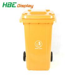 주거 지역 산업 상업 지구 큰 용량 직사각형 쓰레기 버켓
