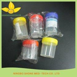 60ml de plastic Steriele Kop van het Specimen van de Urine