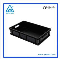 Les sceaux électroniques contenant de gros écologique de pliage des boîtes en plastique ondulé PP Boîte antistatique personnalisé