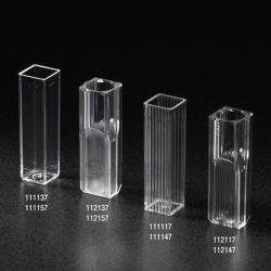 Célula de vidro de quartzo padrão com marcação CE