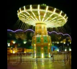 Parco divertimenti all'aperto, Super Swing Flying Chair per bambini E Adulti