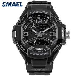 Relojes hombre inteligente moda Calidad reloj de cuarzo relojes personalizados Sports Watch reloj de plástico