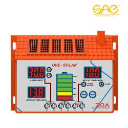30A 12V/24V водонепроницаемый MPPT солнечного контроллера заряда/Контроллер солнечной энергии