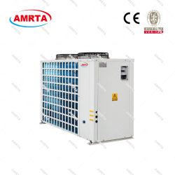 Compresor Danfoss refrigerado por aire de baja temperatura Cervecería envasados Chiller/enfriador de agua/glicol Enfriador de bebidas