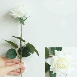 Venda a quente Bouquet Rose Real Artificial Toque em Flor de plástico para casa e decoração de casamento
