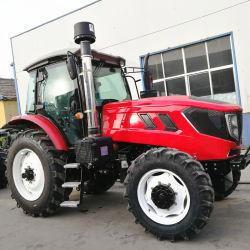 Huabo 110HP de 4WD la famosa marca de tractores agrícolas tractores equipo
