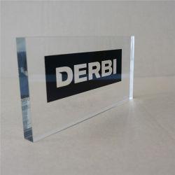 مخصص Paperweight Acrylic Block شعار علامة كتلة