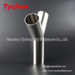 Acero inoxidable de grado alimenticio Soldadura y de tipo T 3un tubo de montaje de espejo pulido
