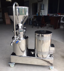Medidas sanitárias em aço inoxidável Comercial Vertical Colóide Triturador para moer alimentar
