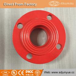 Accesorios de tubería de hierro dúctil de brida de ranurado con FM/Homologación UL